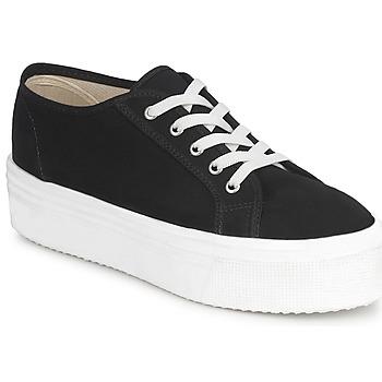 Chaussures Femme Baskets basses Yurban SUPERTELA Noir
