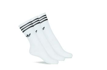 Sous-vêtements Chaussettes hautes adidas Originals SOLID CREW SOCK X3