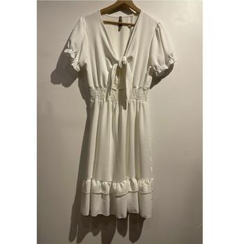 Vêtements Femme Robes courtes Fashion brands 9176-BLANC