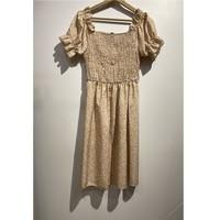 Abbigliamento Donna Abiti corti Fashion brands 53176-BEIGE