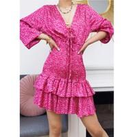 Vêtements Femme Robes courtes Fashion brands 22974-FUSHIA