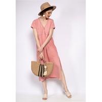 Vêtements Femme Robes longues Fashion brands 6658-CORAIL