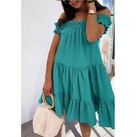 Vêtements Femme Robes courtes Fashion brands R5119-VERT-D-EAU
