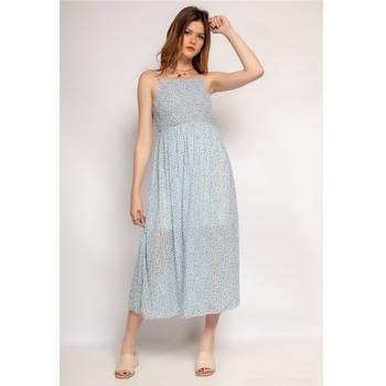 Vêtements Femme Robes longues Fashion brands 571-BLEU-CLAIR