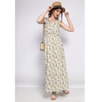 Vêtements Femme Robes courtes Fashion brands R182-BEIGE