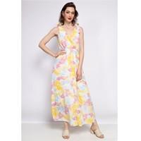 Vêtements Femme Robes longues Fashion brands R185-JAUNE