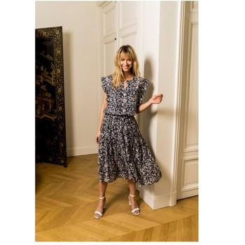 Vêtements Femme Tops / Blouses Fashion brands CK08138-MARINE