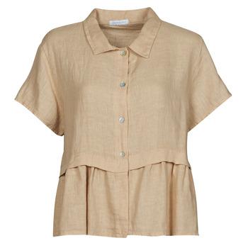 Vêtements Femme Tops / Blouses Fashion brands 10998-BEIGE