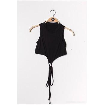 Vêtements Femme Tops / Blouses Fashion brands FR070-BLACK