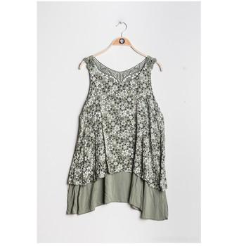 Vêtements Femme Tops / Blouses Fashion brands 9673-KAKI
