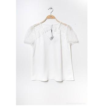 Vêtements Femme Tops / Blouses Fashion brands K5518-WHITE