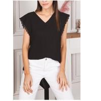 Vêtements Femme Tops / Blouses Fashion brands F2106-BLACK