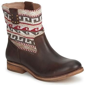 Schuhe Damen Boots Koah DALIA Braun