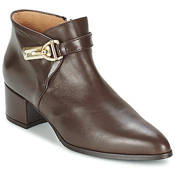 Schuhe Damen Ankle Boots Marian MARINO Braun,