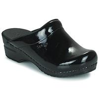 Schuhe Damen Pantoletten / Clogs Sanita SONJA OPEN Schwarz