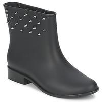 Schuhe Damen Boots Melissa MOON DUST SPIKE Schwarz