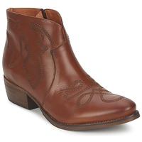 Schuhe Damen Boots Pastelle JANE Kamel