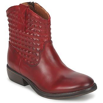 Chaussures Femme Boots Pastelle ELSA Bordeaux