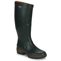 Chaussures Homme Bottes de pluie Aigle PARCOURS 2 Vert