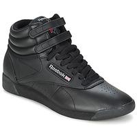 Chaussures Femme Baskets basses Reebok Classic FREESTYLE HI Noir
