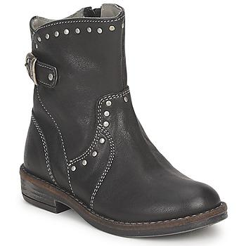 Chaussures Fille Boots Noel FRANCA Noir