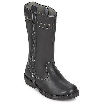 Chaussures Fille Bottes ville Noel FREESIA Noir