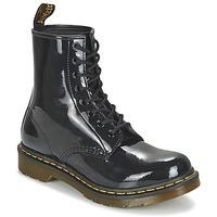 Schuhe Damen Boots Dr Martens 1460 W Schwarz