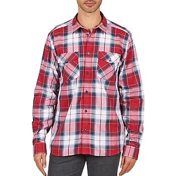 Abbigliamento Uomo Camicie maniche lunghe Wesc JOEY Rosso