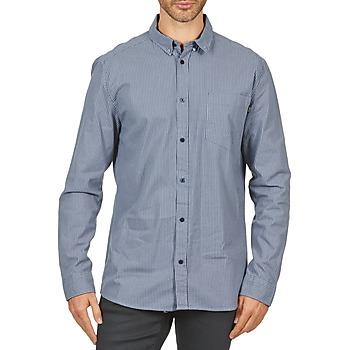 Vêtements Homme Chemises manches longues Wesc YANIK Bleu
