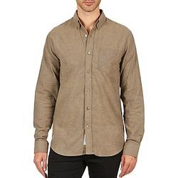Abbigliamento Uomo Camicie maniche lunghe Kulte CHEMISE CLAY 101799 BEIGE Beige