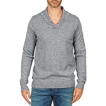 Kleidung Herren Pullover Kulte PULL CHARLES 101823 BLEU Blau