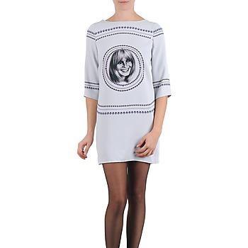 Kleidung Damen Kurze Kleider Brigitte Bardot BB43121 Grau
