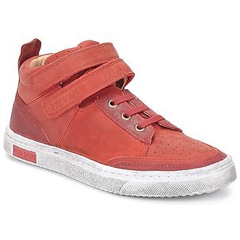 Schuhe Mädchen Sneaker High Pom d'Api BACK BASKET Rot