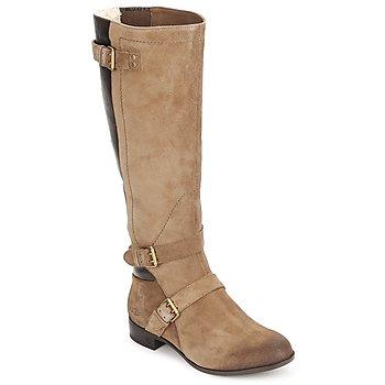 Schuhe Damen Klassische Stiefel UGG CYDNEE Beige