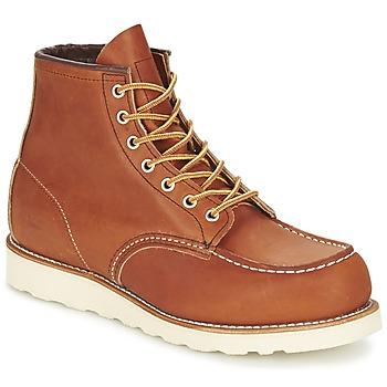 Schuhe Herren Boots Red Wing CLASSIC Braun,