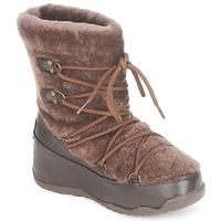 Schuhe Damen Schneestiefel FitFlop SUPERBLIZZ Schokolade