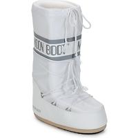 Scarpe Donna Stivali da neve Moon Boot CLASSIC Bianco / Argento