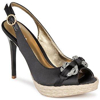 Schuhe Damen Sandalen / Sandaletten Bourne VERITY Schwarz