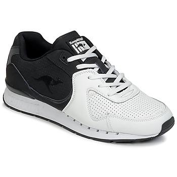 Chaussures Homme Baskets basses Kangaroos COIL-R2 TONE Blanc / Noir