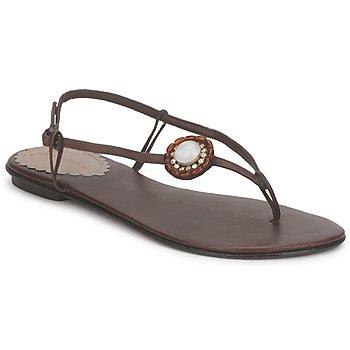 Chaussures Femme Sandales et Nu-pieds Slinks Katie Rose & Mowana Moon Chocolate