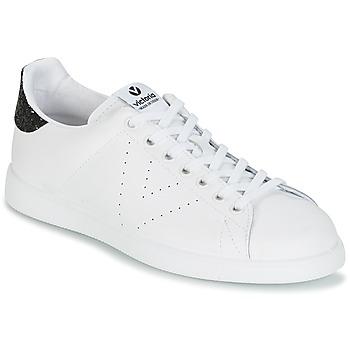 Chaussures Femme Baskets basses Victoria DEPORTIVO BASKET PIEL Blanc / Noir