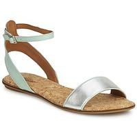 Chaussures Femme Sandales et Nu-pieds Lucky Brand COVELA MINT SILVER
