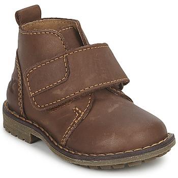 Schuhe Jungen Boots Citrouille et Compagnie MELDUNE Braun,