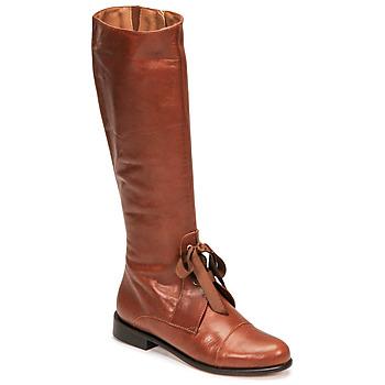Chaussures Femme Bottes ville Fericelli MAURA Camel