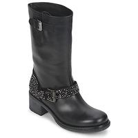 Schuhe Damen Boots Janet Sport CARYFENO Schwarz
