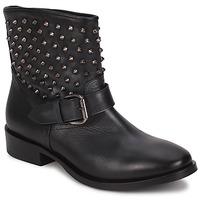 Schuhe Damen Boots JFK BARBALA Schwarz