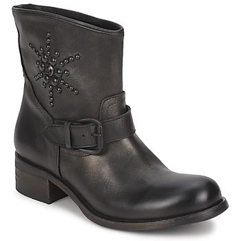 Schuhe Damen Boots JFK OSSIR Schwarz