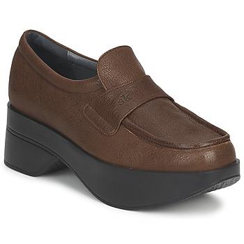 Schuhe Damen Slipper Stéphane Kelian EVA Braun,
