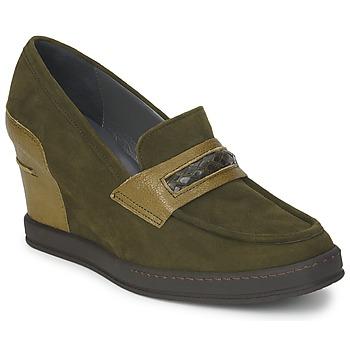 Schuhe Damen Slipper Stéphane Kelian GARA Grün