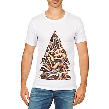 Abbigliamento Uomo T-shirt maniche corte Eleven Paris CITYGOD M MEN Bianco